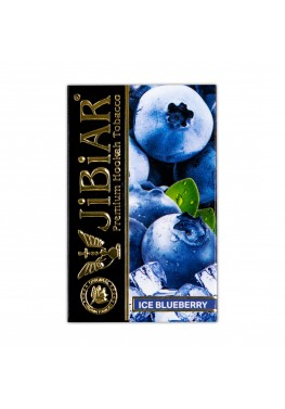 Табак Jibiar Ice Blueberry (Лед черника) - 50 грамм