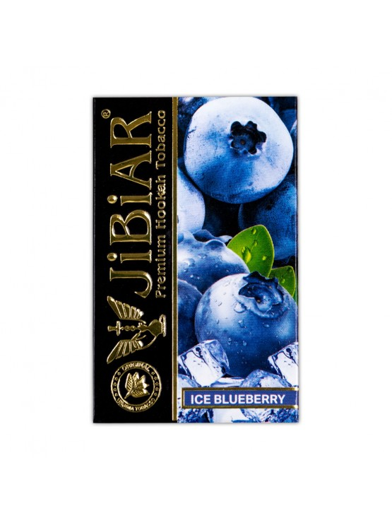 Тютюн Jibiar Ice Blueberry (Крижана чорниця) - 50 грам