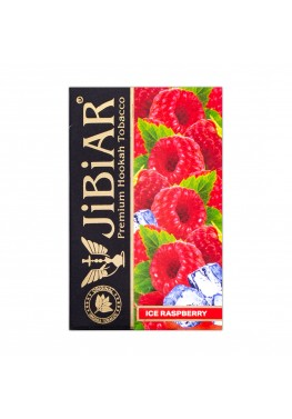 Тютюн Jibiar Ice Raspberry (Лід Малина) - 50 грам