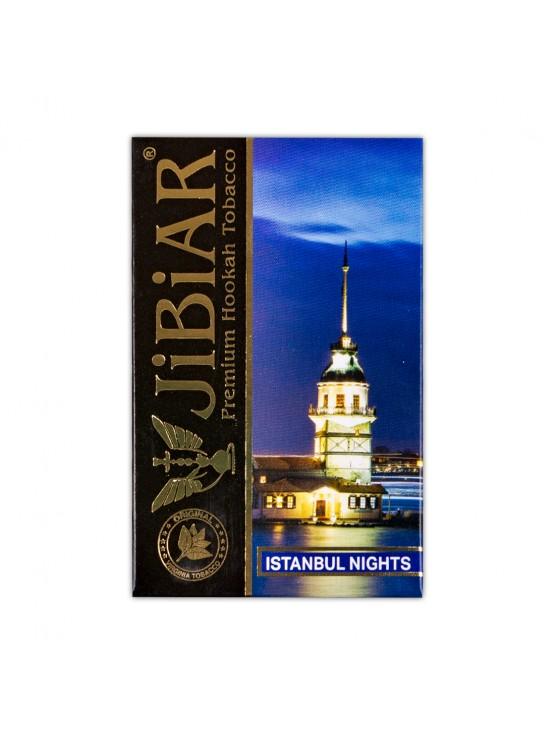 Табак Jibiar Istanbul night (Черника, Ежевика, Малина, Корица)  - 50 грамм