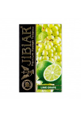 Табак Jibiar Lime Grape (Лайм Виноград) - 50 грамм