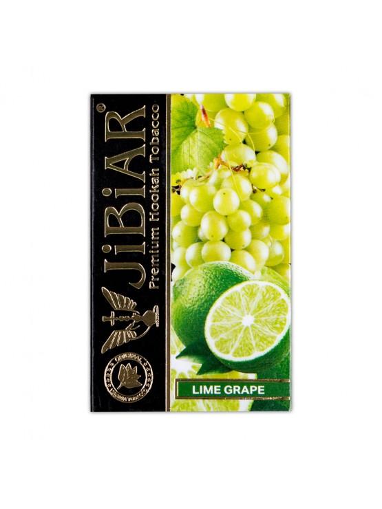 Тютюн Jibiar Lime Grape (Лайм Виноград) - 50 грам