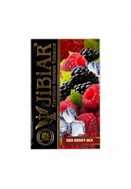 Табак Jibiar Red Berry Mix (Земляника клубника клюква малина ягоды) - 50 грамм