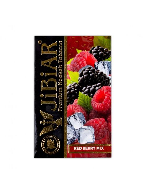 Тютюн Jibiar Red Berry Mix (Суниця полуниця журавлина малина ягоди) - 50 грам