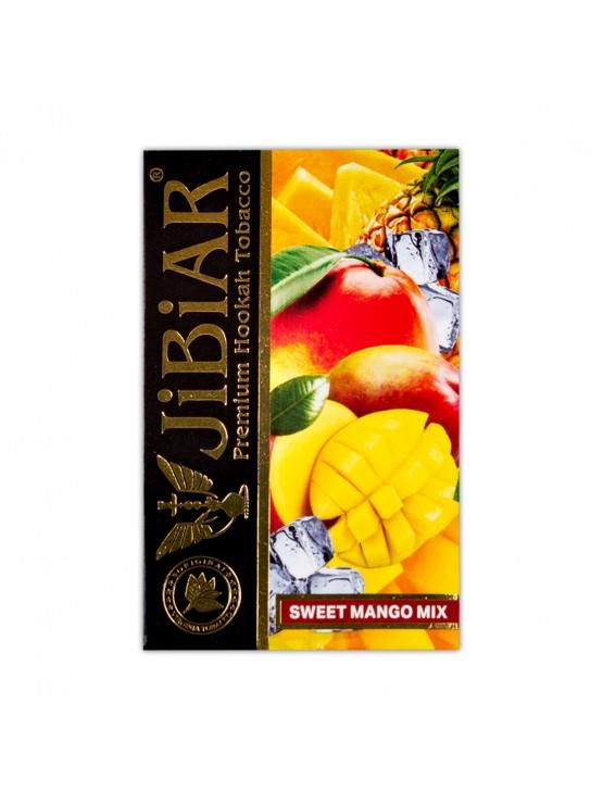 Тютюн Jibiar Sweet Mango Mix (Солодкий Манго Мікс) - 50 грам