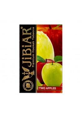 Тютюн Jibiar Two Apple (Подвійне Яблуко) - 50 грам