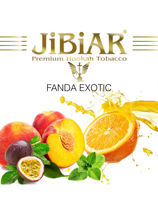 Табак Jibiar Fanda Exotic (Фанта Экзотик) - 100 грамм