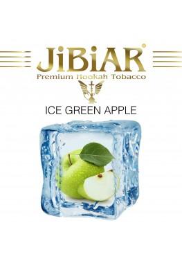 Табак Jibiar Ice Green Apple (Лед Зеленое Яблоко) - 100 грамм