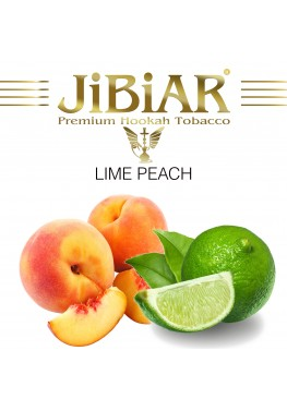 Тютюн Jibiar Lime Peach (Лайм Персик) - 100 грам