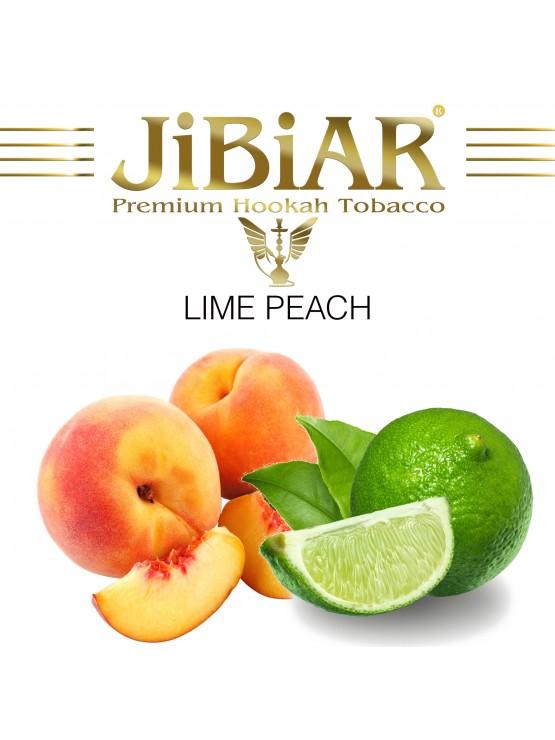 Табак Jibiar Lime Peach (Лайм Персик) - 100 грамм