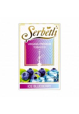 Тютюн Serbetli Ice Blueberry (Лід Чорниця) - 50 грам