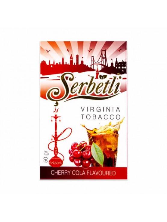Тютюн Serbetli Cola Cherry (Кола Вишня) - 50 грам