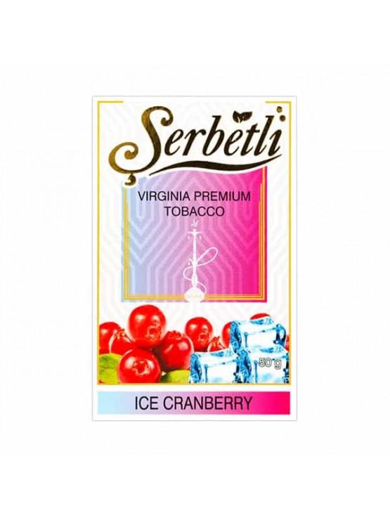 Тютюн Serbetli Ice Cranberry (Лід Журавлина) - 50 грам