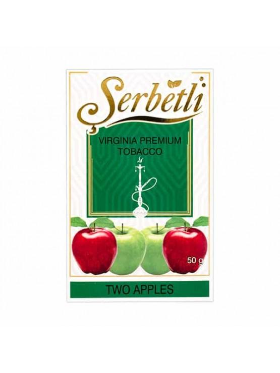 Тютюн Serbetli Two Apple (Подвійне Яблуко) - 50 грам