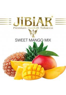 Тютюн Jibiar Sweet Mango Mix (Солодкий Манго Мікс) - 100 грам