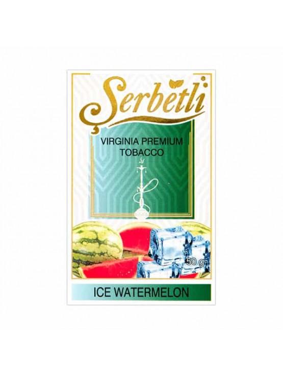 Тютюн Serbetli Ice Watermelon (Лід Кавун) - 50 грам