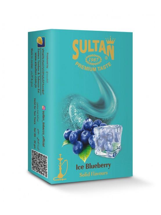 Табак Sultan Ice Blueberry (Лед Черника) - 50 грамм