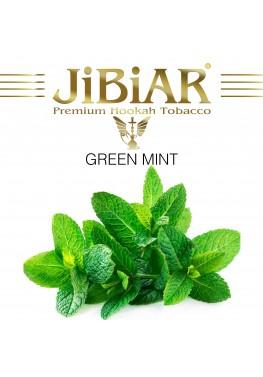 Табак Jibiar Green Mint (Зеленая Мята) - 100 грамм