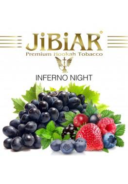 Табак Jibiar Inferno Night (Адская Ночь) - 100 грамм