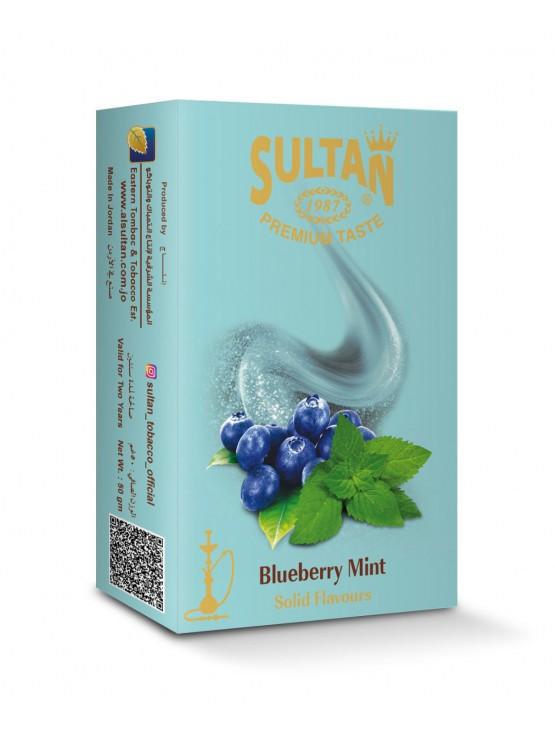 Тютюн Sultan Blueberry Mint (Чорниця М'ята) - 50 грам