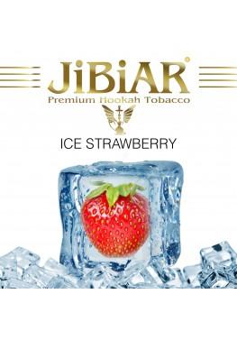 Тютюн Jibiar Ice Strawberry (Лід Полуниця) - 100 грам