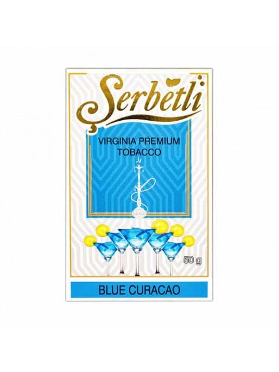 Табак Serbetli Blue Curacao (Блю Кюрасао) - 50 грамм